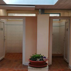 Renovation of sanitary facilities