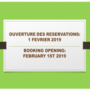 BOOKING 2019