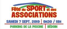 Vivez la fête du sport et des associations au camping le 7 septembre 2019!!!