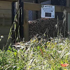 Une station de compostage au camping